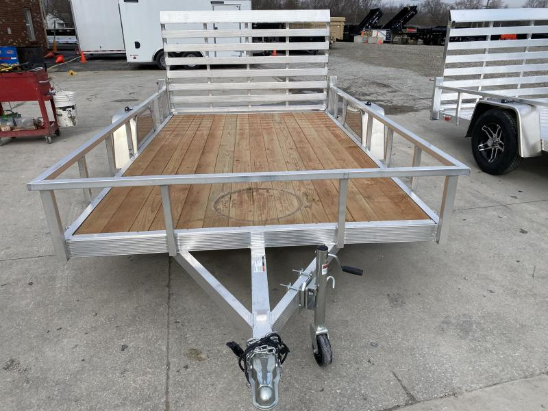 2020 7x12 SA Sport Haven AUT712 Utility Trailer - Treated Wood Floor - Tailgate - 15