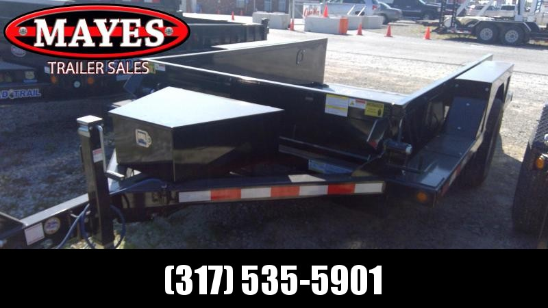 2020 B-B 76x10 TA Drop Down HDT1070E Equipment Trailer - Steel Floor - Power Up/Gravity Down (GVW:  7000)