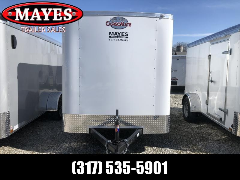 2021 6x10 SA Cargo Mate SS610SA Enclosed Cargo Trailer - Ramp Door - 6 Inch Additional Height (GVW:  2990)
