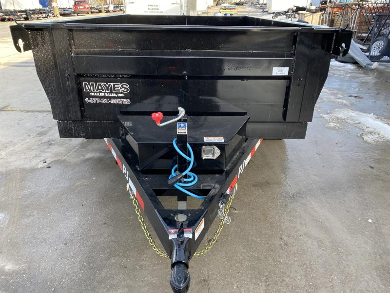 2020 72x10 TA PJ Trailers D3102 Dump Trailer - Split Gate - Ramps - Tarp Kit (GVW:  9899)