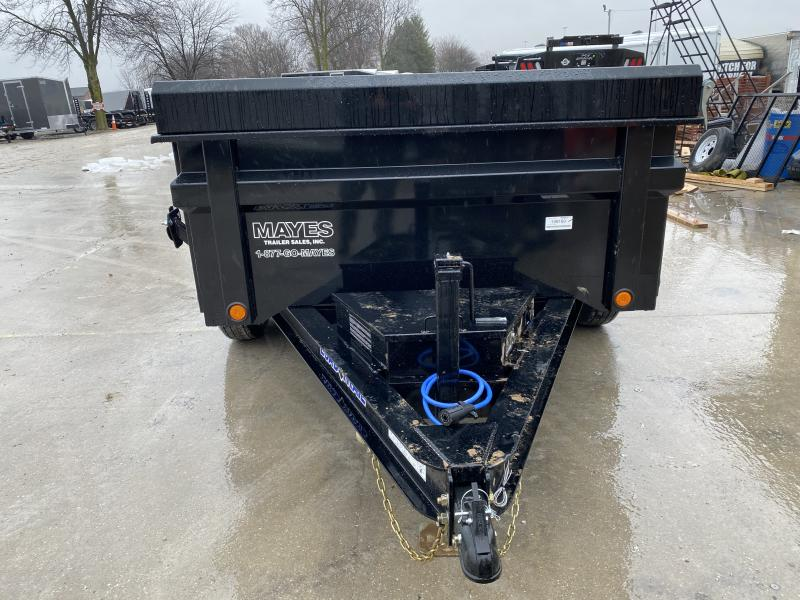 2020 72x10 TA Load Trail DT7210052 Dump Trailer - Scissor Hoist - Side Mount Ramps - Tarp Kit - Spare Tire MOUNT ONLY (GVW:  9990)