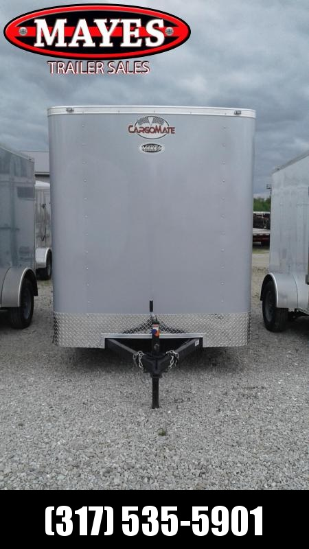 2021 Cargo Mate SS612SA Enclosed Cargo Trailer 6x12 SA - Ramp Door - .030 Metal Upgrade - 12 Inch Additional Height (GVW:  2990)