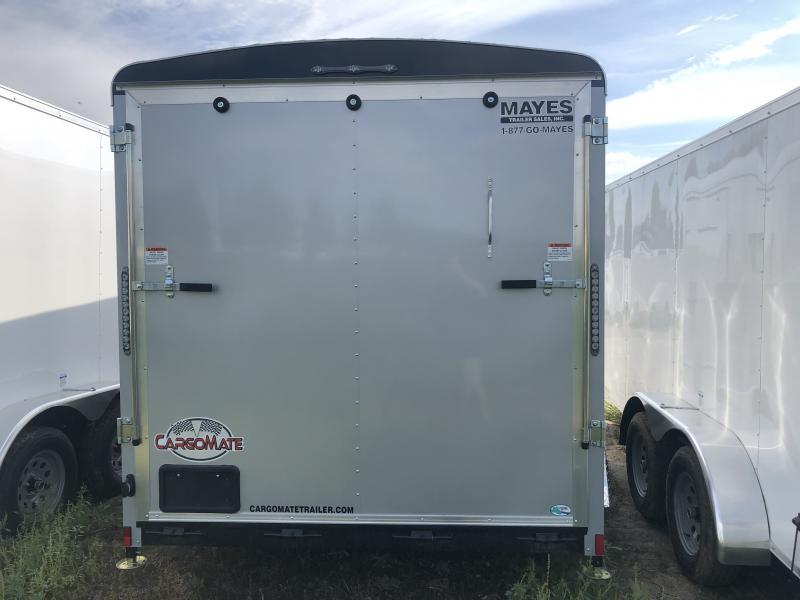 2020 7x14 TA Cargo Mate BL714TA2 Enclosed Cargo Trailer - Ramp Door - Torsion (GVW:  7000)