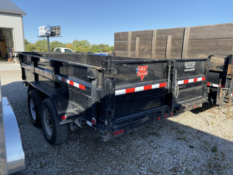 2018 83x14 PJ Trailers D7 USED Dump Trailer - Tarp Kit (GVW: 14000)