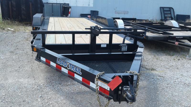 2019 83x20 (4+16) Tilt-N-Go Load Trail TH8320072 Equipment Trailer - D-Rings - Tool Tray (GVW:  14000)