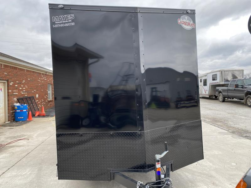 2020 7x14 TA Cargo Mate EHW714TA2 Enclosed Cargo Trailer - Side by Side Pkg. - 12 Inch Additional Height - Ramp Door - Freezer Locks (GVW:  7000)