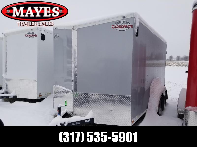 2020 7x14 TA Cargo Mate EHW714TA2 Enclosed Cargo Trailer - Double Door - .030 Metal Upgrade - 6 Inch Additional Height (GVW:  7000)