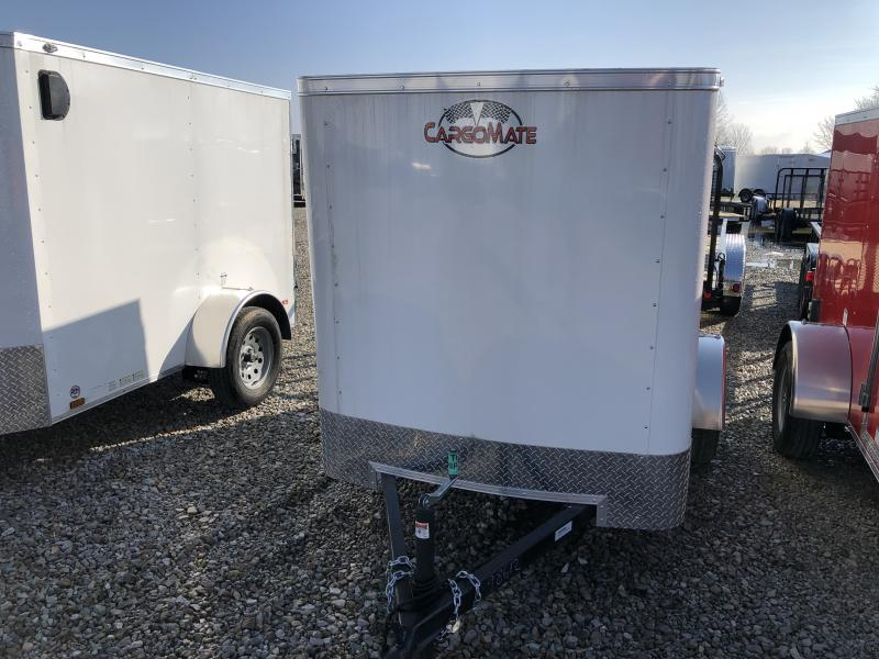 2019 5x8 SA Cargo Mate SS58SA Enclosed Cargo Trailer - Single Rear Door - 6 Inch Additional Height (GVW:  2000)