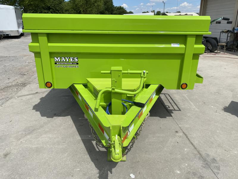 2020 83x16 Load Trail Dump Trailer - (Split/Spreader Gate)(Tarp Kit)(GVW: 14000)(HD Model) *Safety Green*