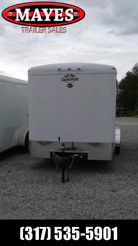 2021 Cargo Mate BL716TA3 Enclosed Cargo Trailer - 7x16 TA - Ramp Door - Side Door - Torsion Axles (GVW:  9800)