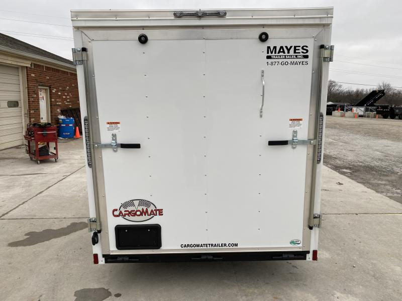 2020 6x12 SA Cargo Mate SS612SA Enclosed Cargo Trailer - Ramp Door - Spring Suspension (GVW:  2990)