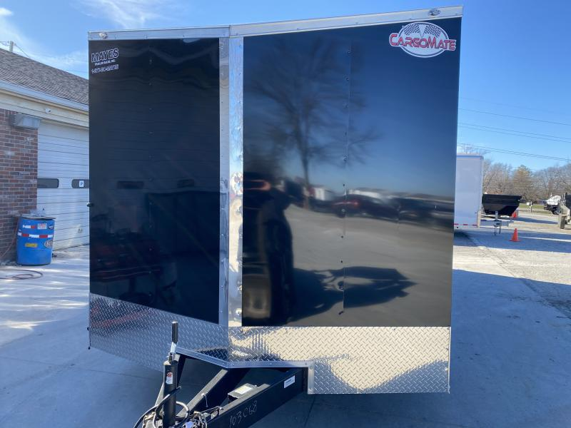 2020 8.5x24 TA Cargo Mate EHW8.524TA3 Enclosed Cargo Trailer - .030 Metal Upgrade - Ramp Door - D-Rings - Aluminum Wheels (GVW:  9800)
