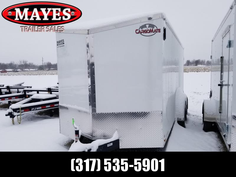 2020 7x16 TA Cargo Mate EHW716TA2 Enclosed Cargo Trailer - Double Door - E-Series, Pkg. #1 - Slant V-Nose - Additional Floor Crossmembers (GVW:  7000)