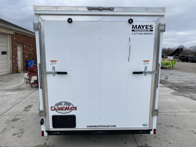2020 6x10 SA Cargo Mate SS610SA Enclosed Cargo Trailer - Ramp Door - 6 Inch Additional Height (GVW:  2990)
