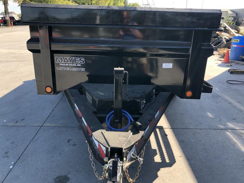 2020 72x12 Load Trail DT72 Dump Trailer - Tarp Kit (GVW: 9990)