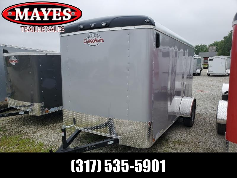 2020 6x12 SA Cargo Mate BL612SA Enclosed Cargo Trailer - Ramp Door (GVW:  2990)