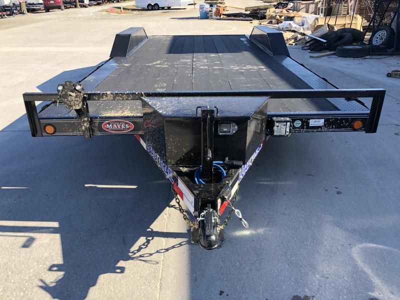 2020 102x20 (18+2) TA Load Trail CH0220052 Car / Racing Trailer - Blackwood Pro Floor - Drive Over Fenders - Rear Slide In Ramps - Tool Box (GVW:  9990)