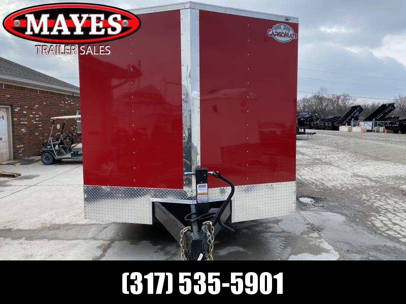 2021 102x16 TA Cargo Mate EHW816TA6 Enclosed Cargo Trailer - Ramp Door - Pintle - E-Tracking - HD Cage Package (GVW:  16000)