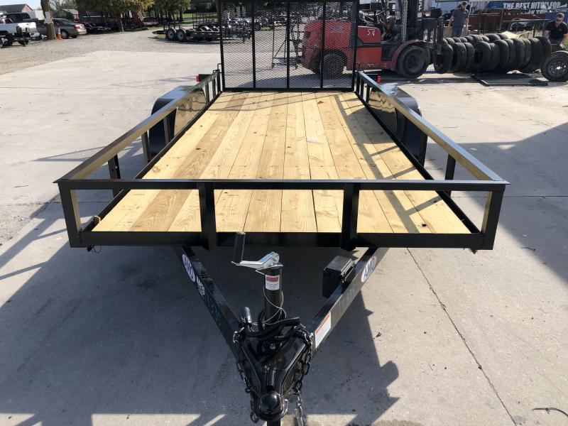 2020 76x16 TA AMO UT162 Utility Trailer - Treated Wood Floor - Tailgate (GVW:  7000)