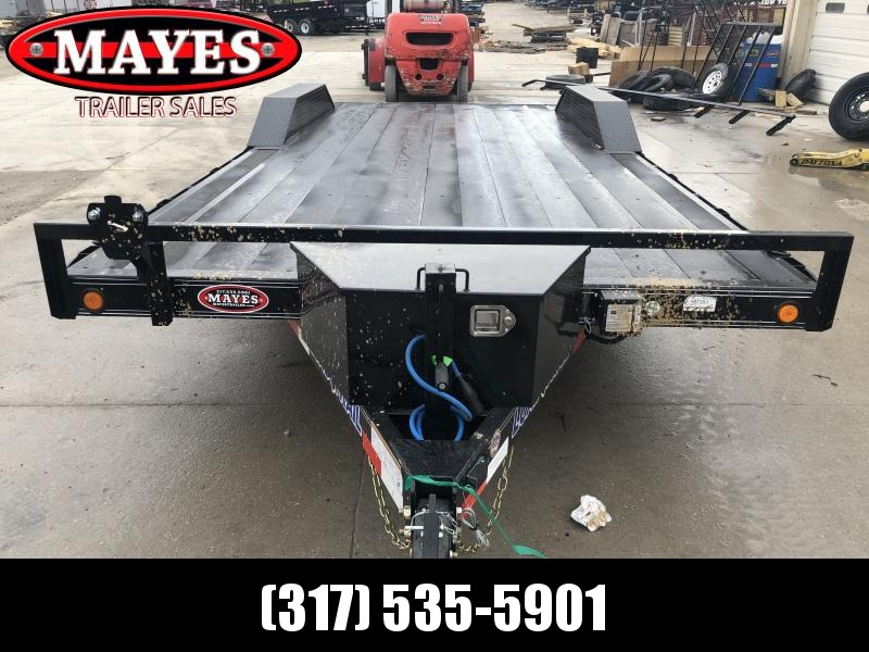 2020 102x20 (18+2) TA Load Trail CH0220052 Car / Racing Trailer - Blackwood Pro Floor - Drive Over Fenders - Rear Slide In Ramps (GVW:  9990)