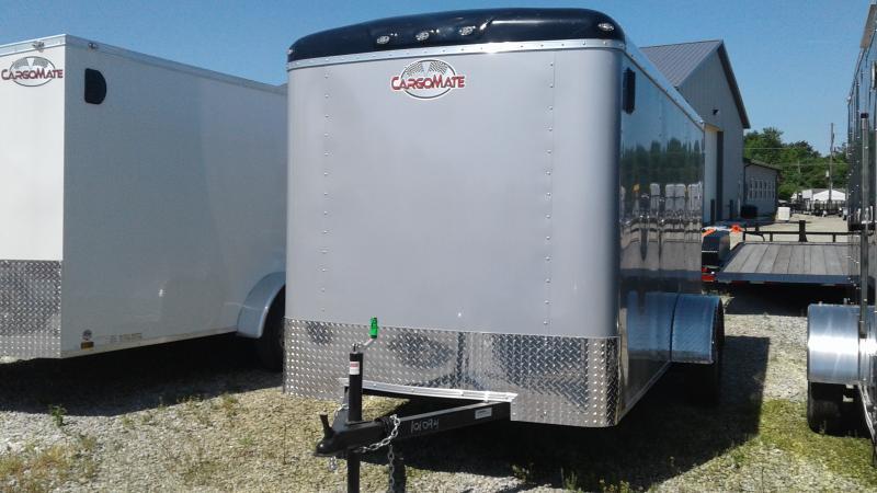 2020 6x12 SA Cargo Mate BL612SA Enclosed Cargo Trailer - Double Door with Dual Cambars - Torsion (GVW:  2990)