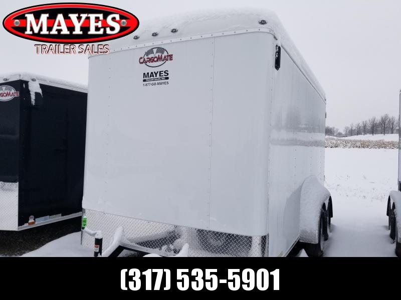 2020 7x14 TA Cargo Mate BL714TA2 Enclosed Cargo Trailer - Ramp Door - Torsion - 6 Inch Additional Height (GVW:  7000)