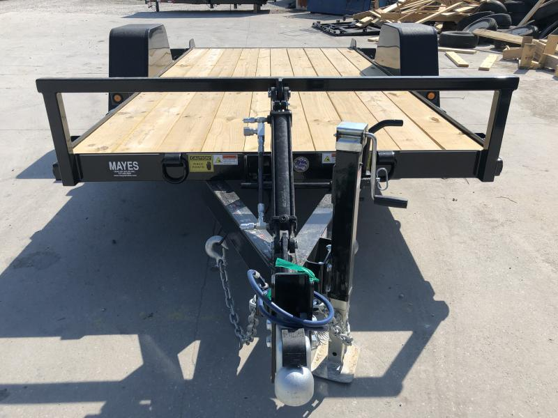 2020 6x12 SA B-B UT6X12NRT-7E Utility Trailer - 7K Drop Axle - Cushioned Cylinder (GVW:  7000)