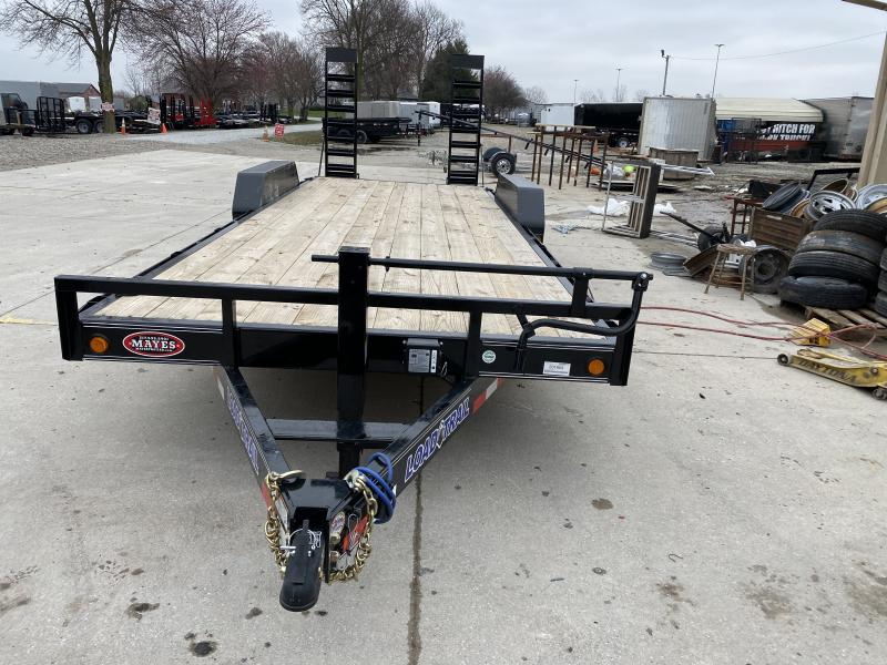 2020 83x22(20+2) Load Trail CH14 Equipment Trailer - w/ 5ft Fold-up Ramps (GVW: 14000)