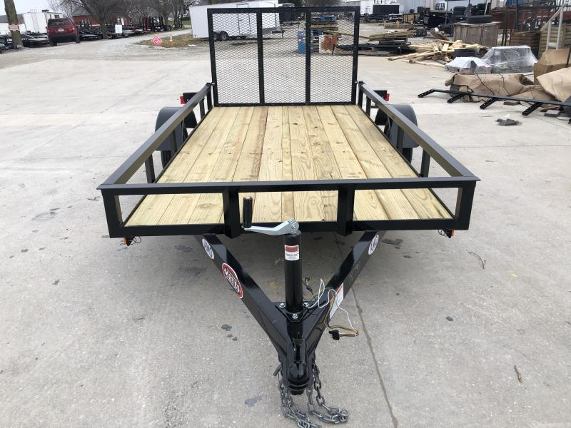 2020 5X10 SA AMO UL101 Utility Trailer - Treated Wood Floor - Tailgate (GVW:  2000)