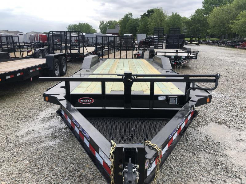 2019 102x22(16' Tilt + 6' Stationary)  Load Trail Tilt Trailer *Winch Plate**Roller*(GVW: 14000)