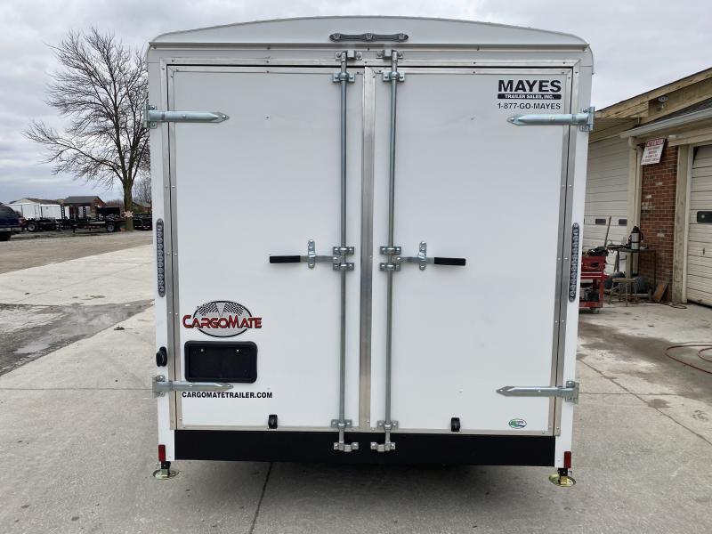 2020 7x18 TA Cargo Mate BL718TA3 Enclosed Cargo Trailer - Double Door - Torsion (GVW:  9800)
