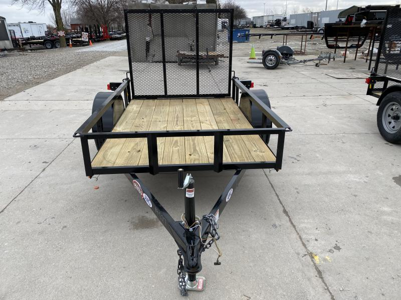 2020 5x8 SA AMO US081 Utility Trailer - TWF - Tailgate - 15 Inch Tires and Wheels (GVW:  2990)