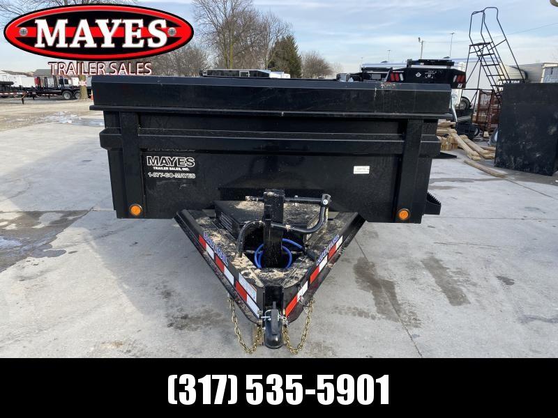 2020 83x14 TA Load Trail DT8314072 Dump Trailer - 3-Way Gate - Slide In Rear Ramps - Scissor Hoist - Tarp Kit (GVW:  14000)