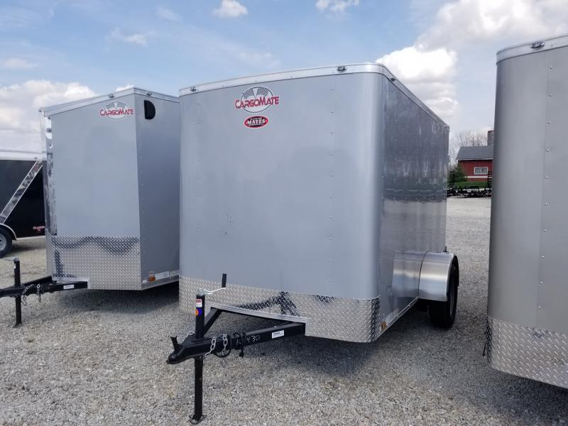 2021 6x10 SA Cargo Mate SS610SA Enclosed Cargo Trailer - .030 Metal Upgrade - Double Door - 6 Inch Additional Height (GVW:  2990)
