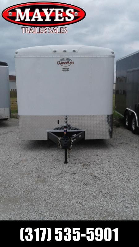 2020 102x24 TA Cargo Mate BL824TA4 Enclosed Cargo Trailer - 54 Inch Ext. Tube Tongue - Ramp Door - HD Cage (GVW:  12000)