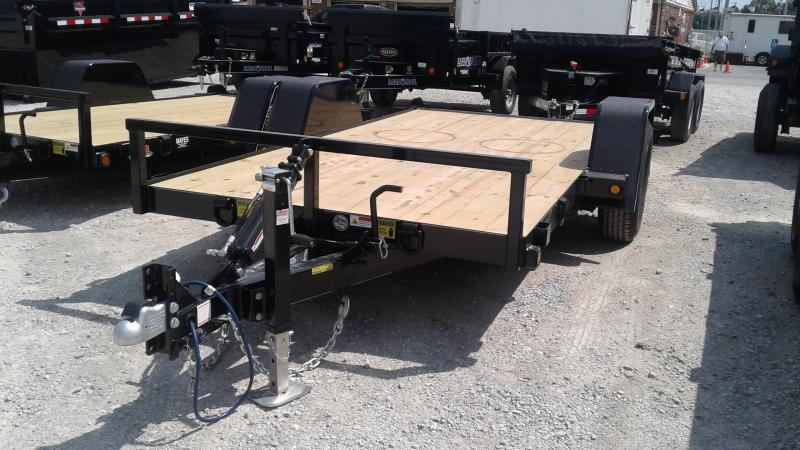 2020 B-B 6x12 (12+2) UT6X12NRT-7E Utility Trailer - Drop Axle (GVW:  7000)