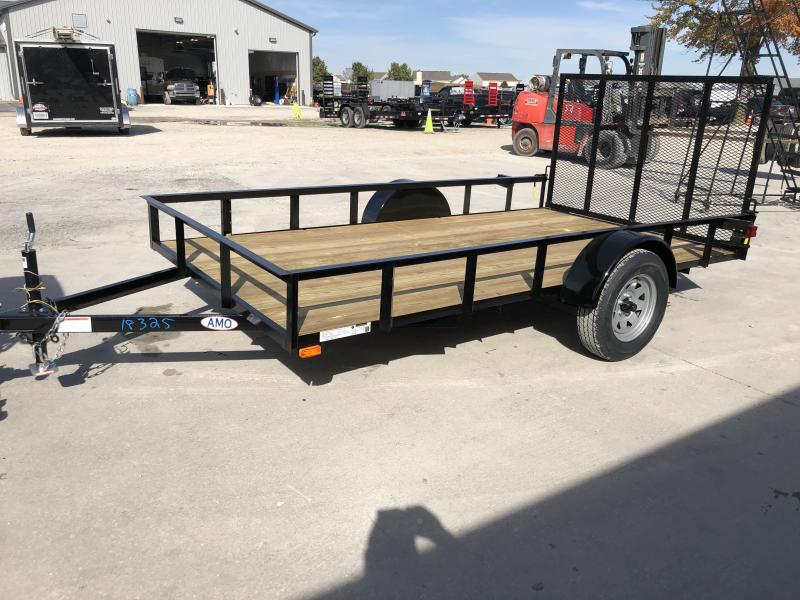 2020 76x12 SA AMO US121 Utility Trailer - Treated Wood Floor - Tailgate (GVW:  2990)