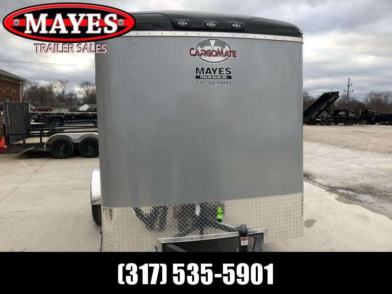 2020 6x10 SA Cargo Mate BL610SA Enclosed Cargo Trailer - Ramp Door - Torsion (GVW:  2990)