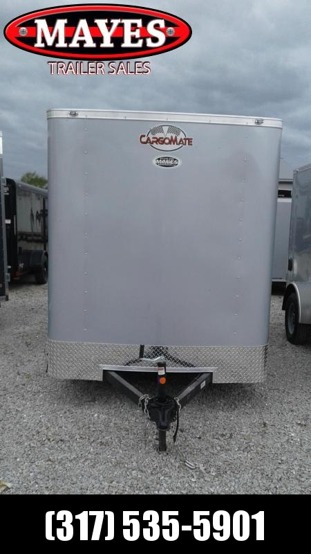2021 Cargo Mate SS612SA Enclosed Cargo Trailer 6x12 SA - Ramp Door - .030 Metal Upgrade - 12 Inch Additional Height (GVW:  2990)