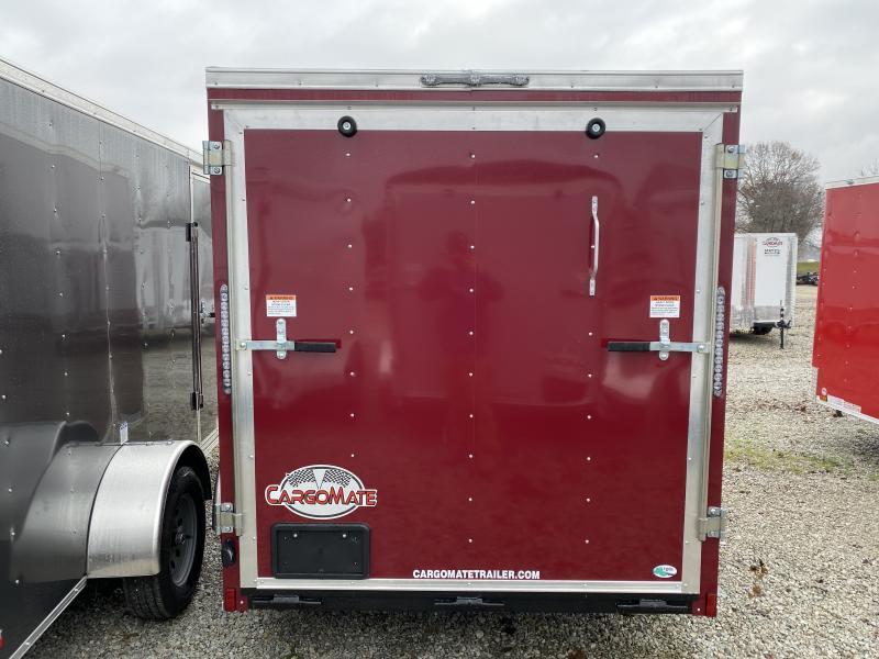 2020 6x10 SA Cargo Mate SS610SA Enclosed Cargo Trailer - Ramp Door - 6 Inch Additional Height (GVW:  2990)
