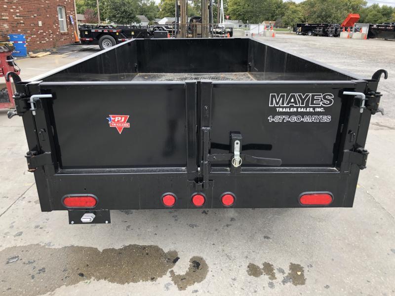 2020 60 Inchx10 Foot Utility Dump PJ Trailers D5102 Dump Trailer - Split Gate - Tarp Kit (GVW:  7000)