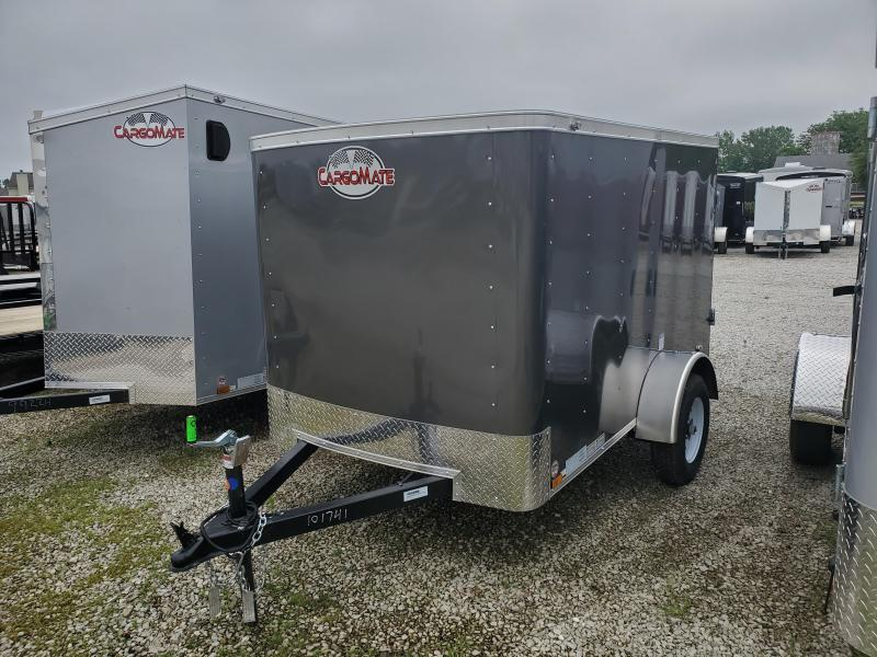 2020 5x8 SA Cargo Mate SS58SA Enclosed Cargo Trailer - 1 Rear Door (GVW:  2000)