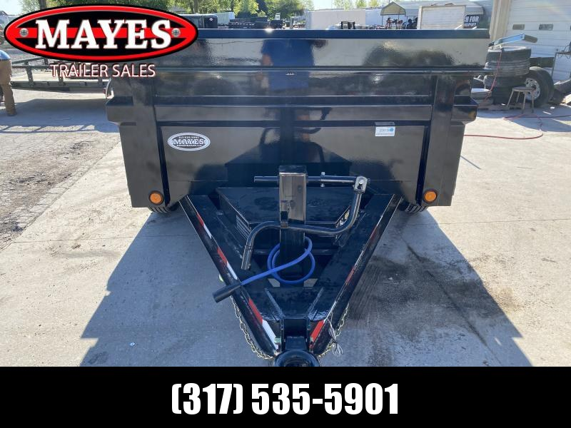 2020 Load Trail DT7210052 Dump Trailer 72x10 TA Dump - Scissor Hoist - Tool Box - Side Mount Ramps - D-Rings - Pintle Ring - 3-Way Gate - Spare Tire MOUNT ONLY (GVW:  9990)