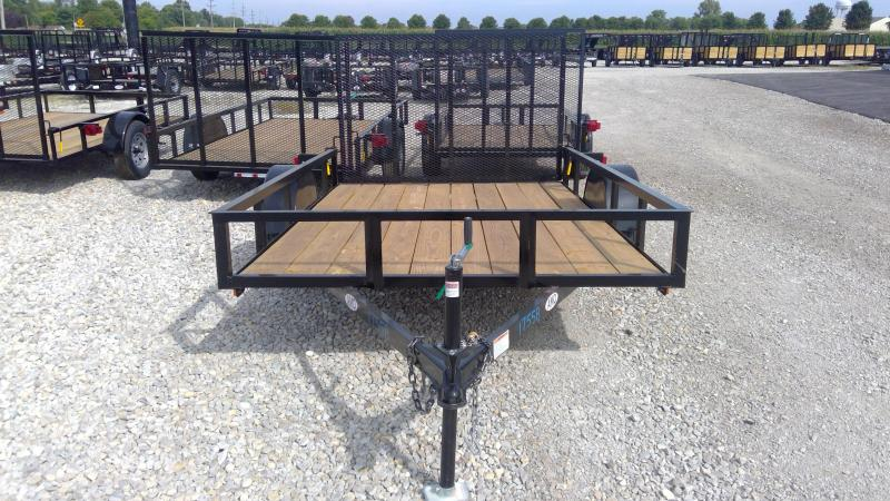 2020 76x10 SA American Manufacturing Operations (AMO) US101 Utility Trailer - Tailgate (GVW:  2990)