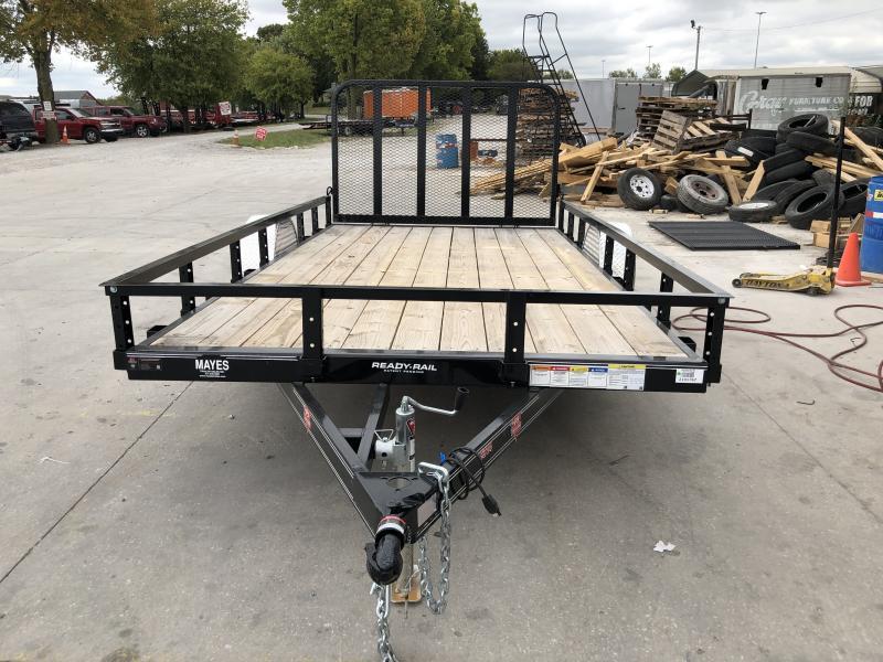 2019 83x14 SA PJ Trailers U8141 Utility Trailer - Tailgate (GVW:  2995)