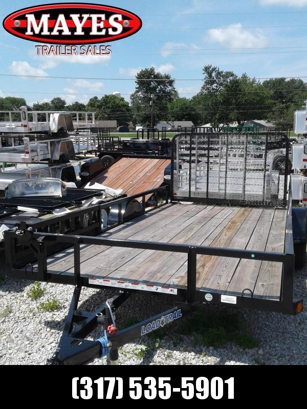 2018 83x14 Load Trail SE83 Utility Trailer - w/ 4' Fold-in Spring Assist Gate (GVW: 3000)(ATV Ramps)