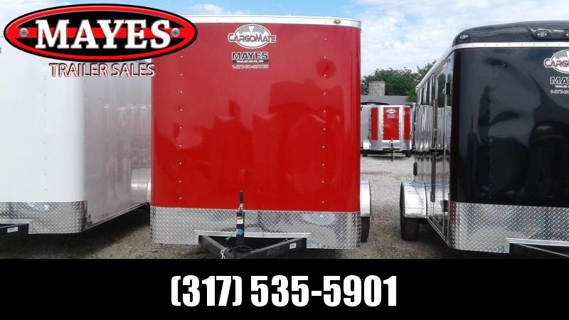 2020 6x12 SA Cargo Mate SS612SA Enclosed Cargo Trailer - Double Door - 6