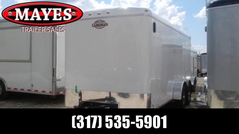2021 7x16 TA Cargo Mate BL716TA3 Enclosed Cargo Trailer - Ramp Door - Torsion (GVW:  9800)