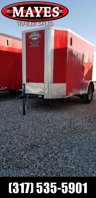 2019 5x8 Cargo Mate EHW58SA Enclosed Cargo Trailer - Double Door - 6 Inch Additional Height (GVW:  2990)