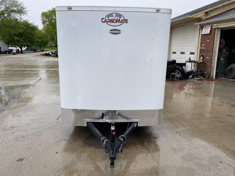 2021 Cargo Mate SS612SA Enclosed Cargo Trailer - 6x12 SA - Double Door - 6 Inch Additional Height - Spring Suspension (GVW:  2990)